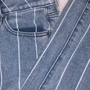 PacSun Pants - Striped mom jeans